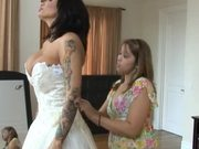 Tattooed Bridezilla versus the Monster Cock