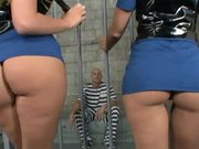 Horny Prison Guards Get Their Big Asses Pounded By Prisoner Johnny Sins