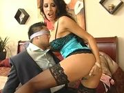 Banging The Hot MILF Mya Nichole After Hiding in the Closet