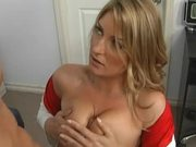 Doctor with Big Natural Tits Avy Scott Getting Fucked By a Patient
