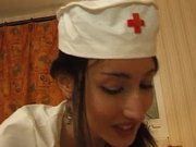 A arab girl nurse