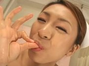 Sweet Japanese Nurse Likes To Tease Her Patients