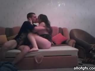 Horny Teen And Her Boo Film Themselves Fucking