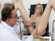 Skinny girl likes her dirty doctor