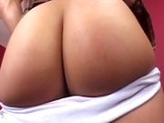 Big shaft fucks naughty slut with wet ass
