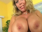 Slut with a shaved cunt loves hardcore