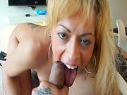 Ass flashing Latina chick fucked hardcore