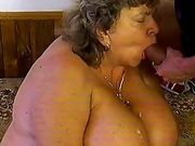 Chubby monsterbreast mom