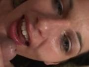 Messy Facial Cumshot