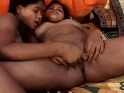 Hot Indian Lesbos Making Out