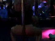 Sultry And Hot Stripper On Stage