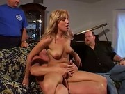 Unfaithful Wife Riding On Huge Dick