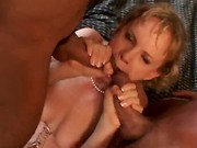 Sex-Hungry Wife Take Two Cocks