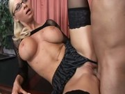 Secretary fucks her boss...