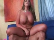 Bikini babe with big boobs gets hardcore fucked