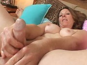 MILF Gives A Mind-Blowing Handjob