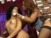 Ebony Babes Doing Dirty Lesbian Sex