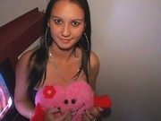 Teen Toni Giving Glory Hole Valentines Day Blowjobs