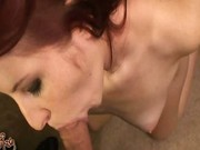 Redhead testing anal position