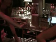 Clothed Women Share Stripper