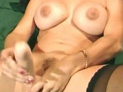 Two cocks deep drilling busty chick