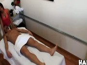 Masseuse offers a happy ending