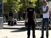 Tourist visits an Amsterdam hooker