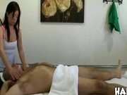 Old guy pays masseuse for extra services