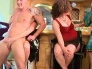 Girls Going Crazy For Stripper Cock