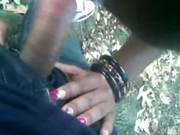 Young Black Girl Cock Sucking