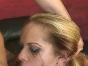 Latina extreme rough blowjob