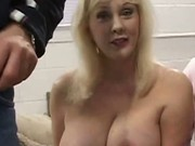 Huge Titty MILF Sucking
