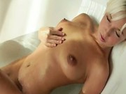 Megan morning bathroom masturbation