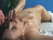 Hot 18 year old girl fucks and sucks