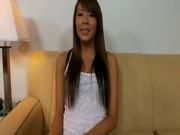 Petite asian teen amateur taking a cock