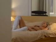 The most erotic blondes masturbation