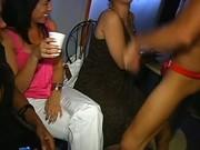 Bitches sucking in strip club
