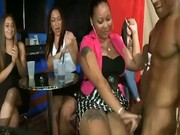 Girls jerking off male strippers