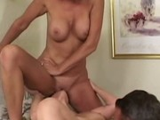 Threesome Double Blowjob