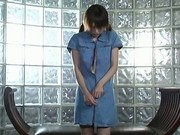 Pretty teen Jun Nada plays with herself and sucks cock 3 by Slur