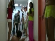 College teens having fun and having sex
