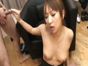 Anna Mizukawa Naughty Asian model gets hot group sex 9 by AssNip