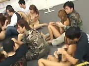 Huge japanese gangbang 44 by weirdjp