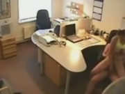 Secretary Gets Fucked On Hidden Office Camera
