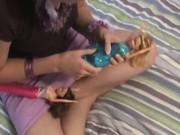 Girlfriend teasing and masturbating