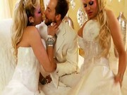 Briana Banks and Kelly Madison Having A Wedding Day Threeway