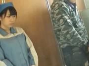 Asian toilet attendant cleans wrong public bathroom 7 by PublicJ