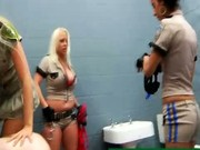 Female domination with strapon