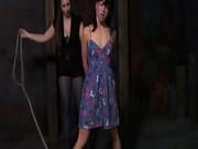 Sister Dee can be so cruel. Marina is a hot, willing bondage slu