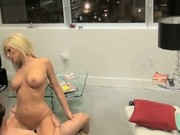 Blonde Slut Caught Fucking Her Lover On Hidden Camera